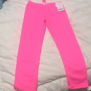 Cozy lining hot pink leggings 4T